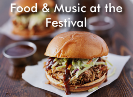 Food and Music at the Hoylake Beer Festival